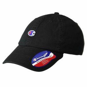 CHAMPION 🧢 Black Cap